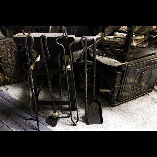 Was out today scouting a location for an observational documentary I gotta do for college. Hand made pokers at a blacksmiths. Place was full of awesome stuff! Gmit Obdoc