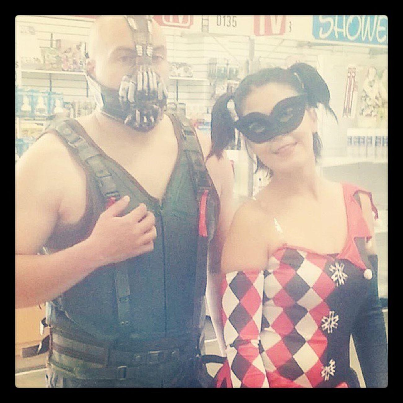 Halloween2013 Bane Harliquin Batmanwho