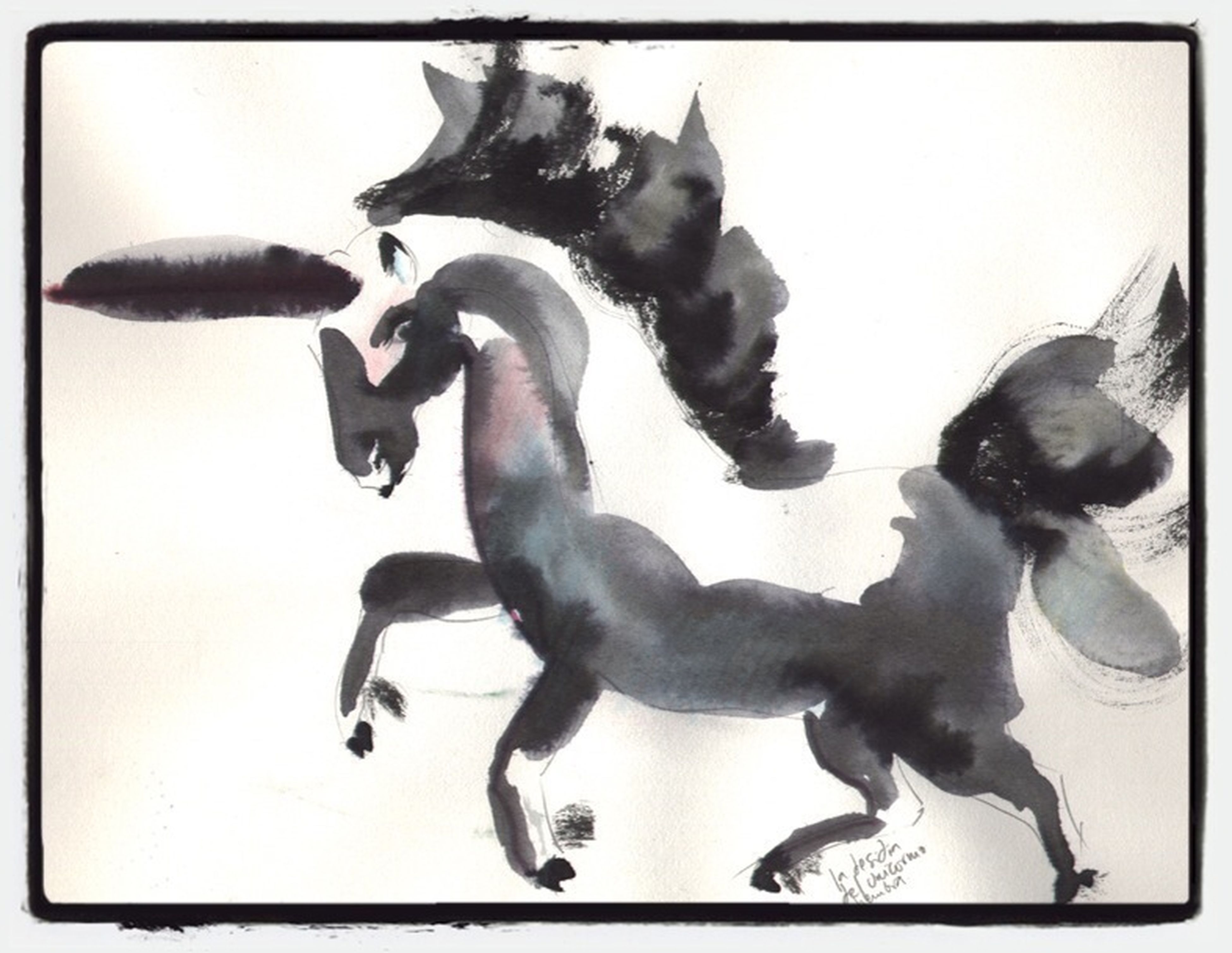 La Desidia Del Unicornio Hembra