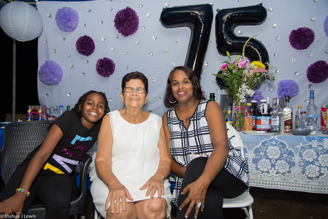Family Time Granny Smiling Togetherness Casual Clothing Looking At Camera Birthdayparty Beautiful People Stillife Laughing Caribbean Trinidad And Tobago Real People Love Party - Social Event Celebration FamilyTime