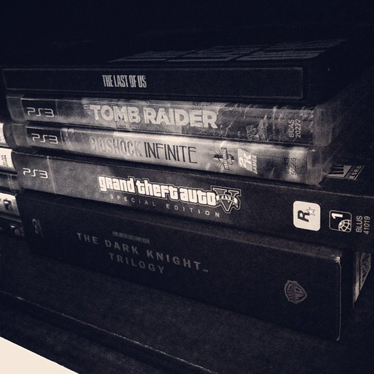 2013 Game of The Year Contenders!! TLOU Tombraider BioshockInfinite GTAV