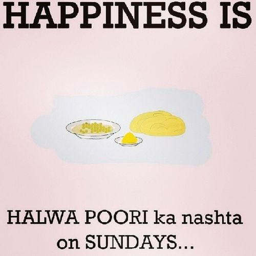 Good morning everyone This ment to be Sunday's breakfast! Like y'all know Delicious Amazing Halwapoori Sunday bearsdown can'twait