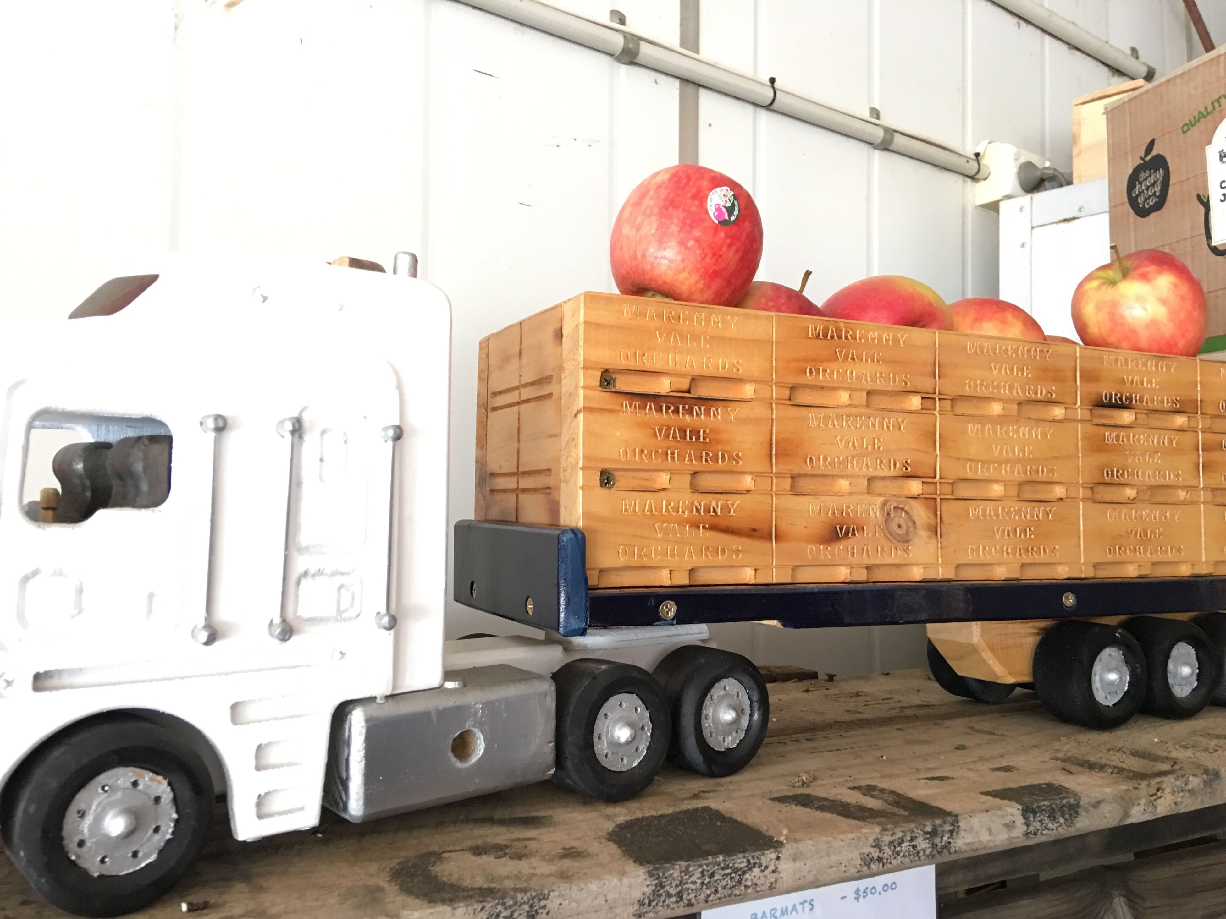 Miniature Truck Apples Cheeky Grog Co Orchard