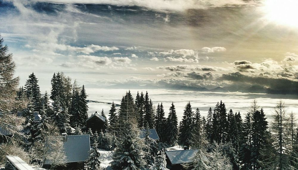Deepfreeze Snow Winter Alpes Austria Snowboarding Skiing Sky Skyporn