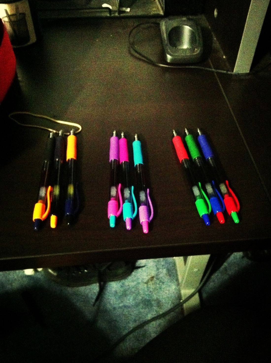 My Colorful Pens