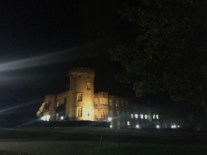 Night Lights Nightphotography Castle Dark Built Structure Architecture History Illuminated Outdoors Ireland Dromolandcastle