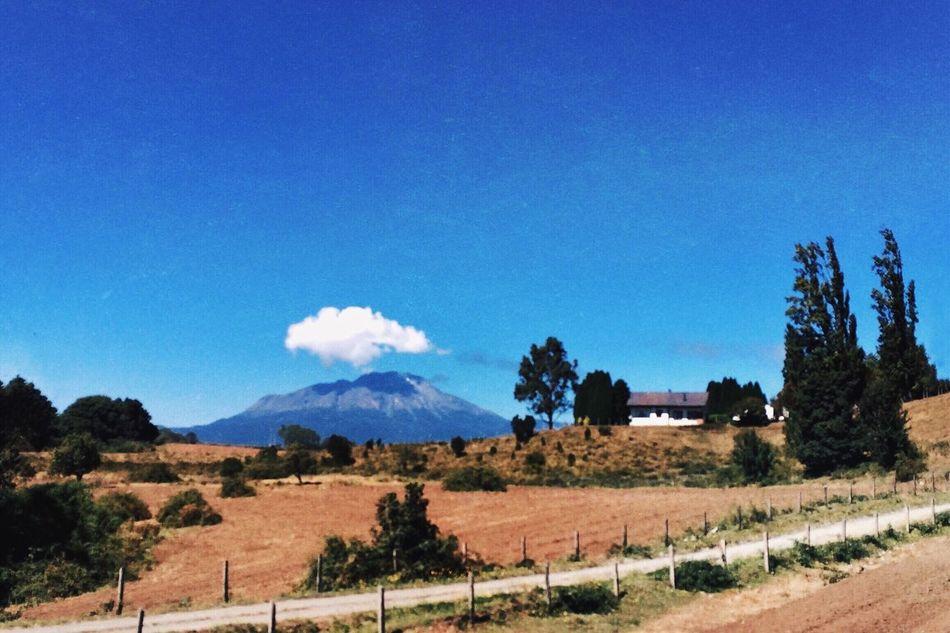 Landscape IPhoneography Volcano PuertoVaras Lonelycloud