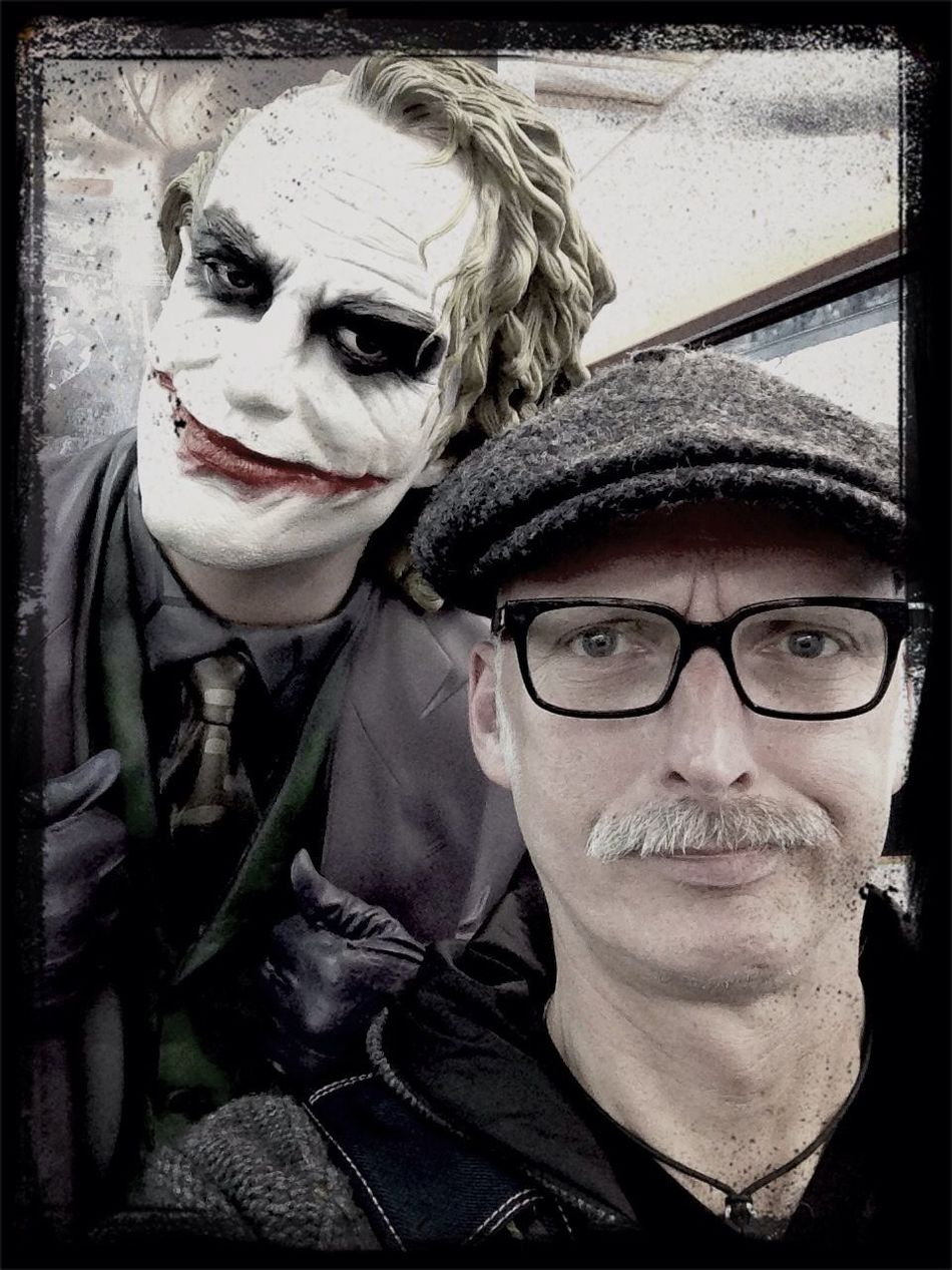Warum so ernst? Why are so serious? My friend Joker. Out Of Control Buying Stuff Enjoying Life