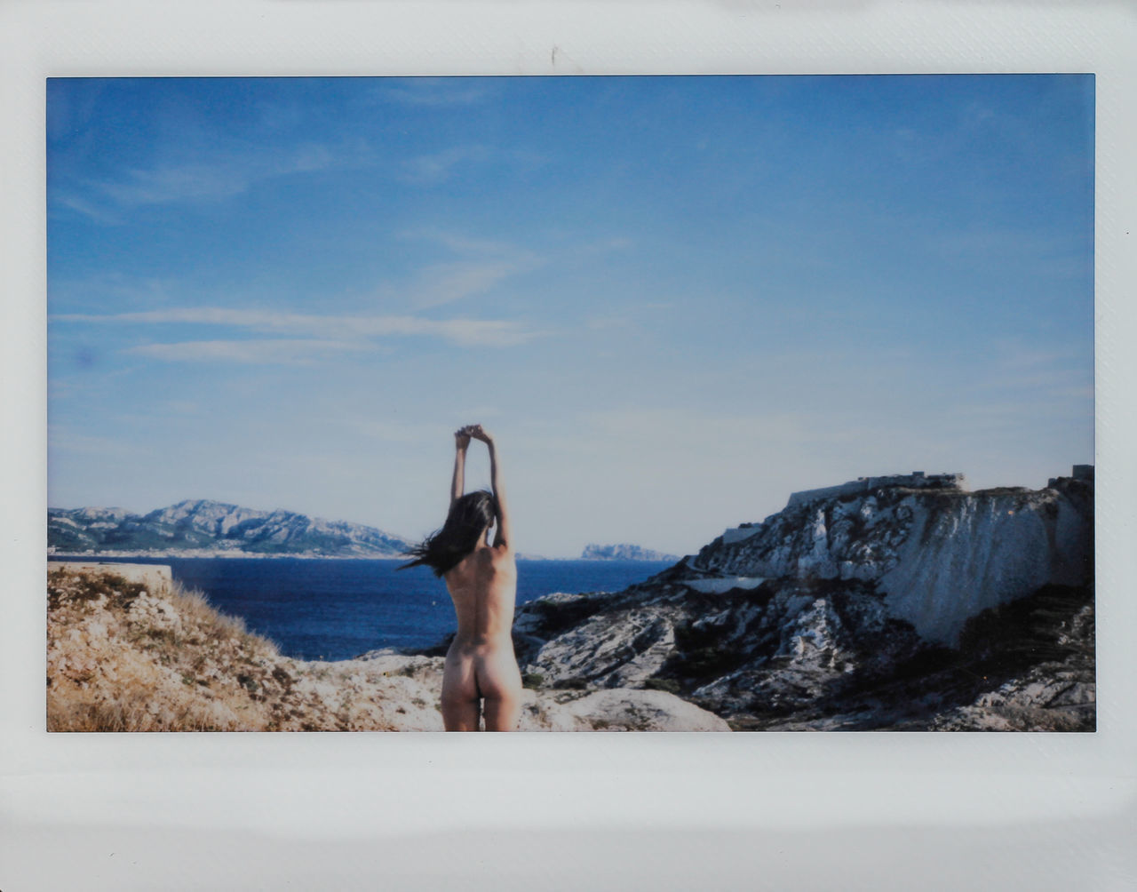 Ile du Frioul Adventure Beauty In Nature Body & Fitness Girl Girls Instant Instax Landscape Marseille Mountain Naked_art Nature Nude_ Not_porn Nudeartphotography Nüde Art. One Person Polaroid Polaroid Art Sky Water Yoga Pose Young Young Women Youth Youth Of Today
