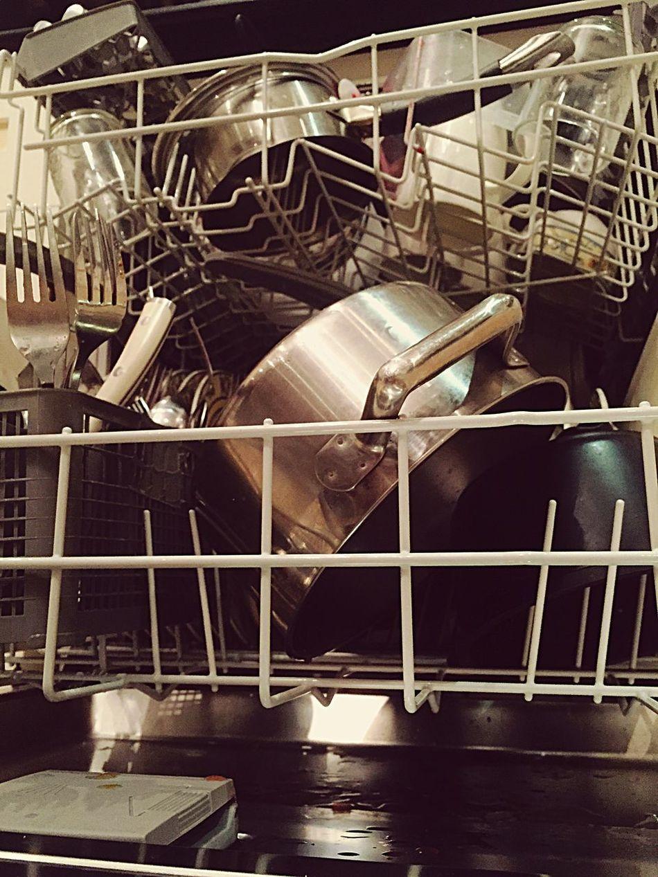 Dishwasher Dishwashing Dirty Kitchen Pan Kitchen Utensils Kitchenware Dishes Kitchen Things