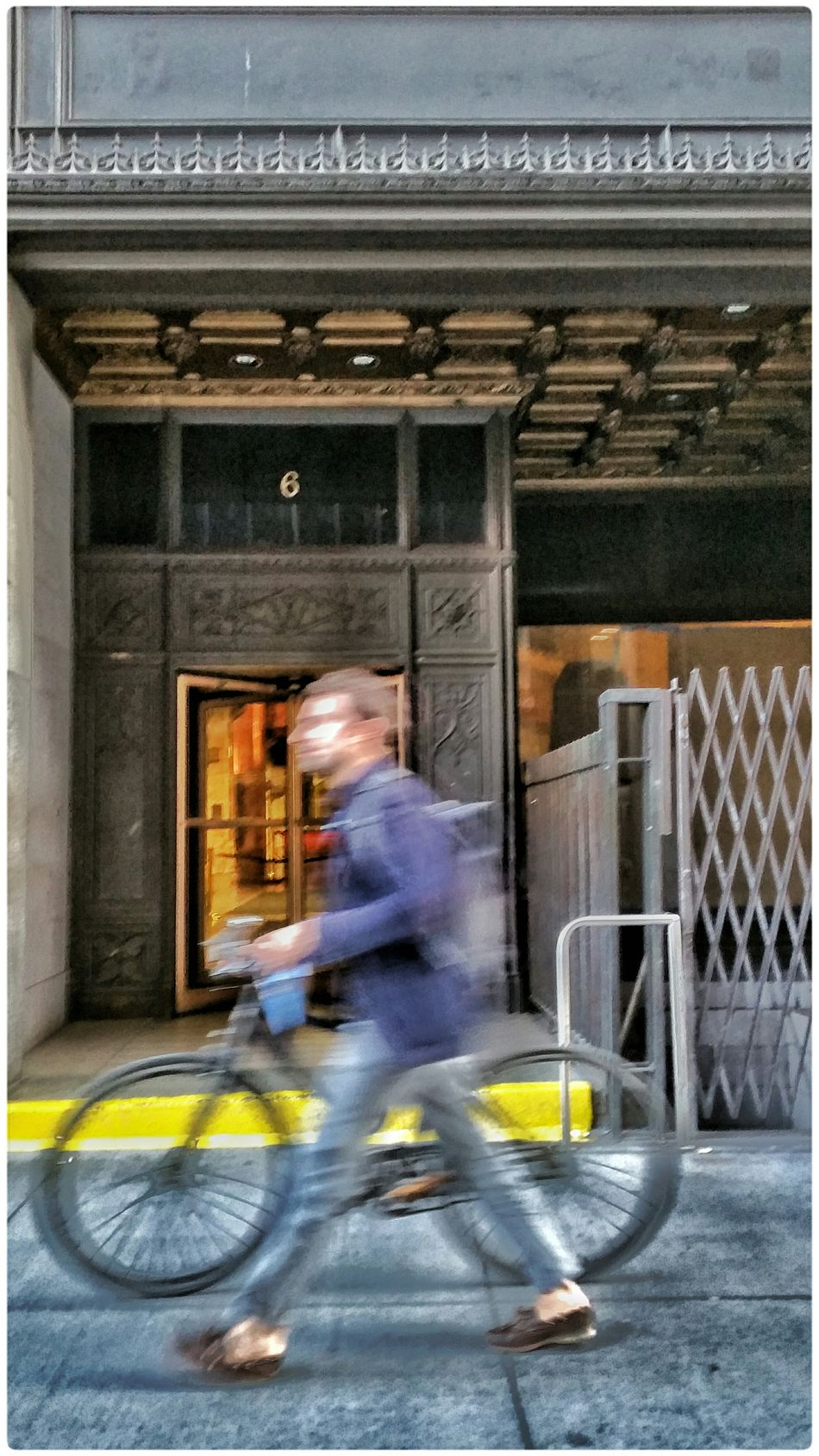 Bike Blur Motion Blur Motion Life In Motion Street Photography