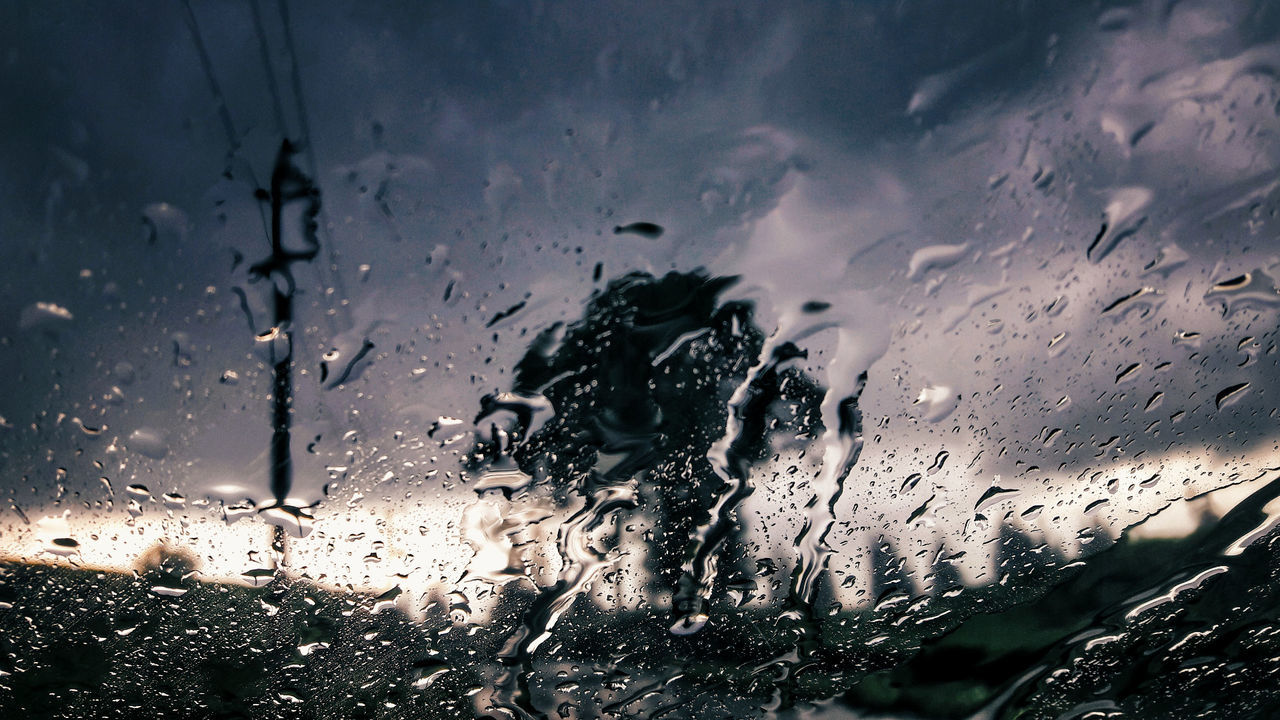 Drop Wet Water Window Backgrounds Full Frame No People Sunset RainDrop Day Nature Close-up Outdoors Sky UnderSea