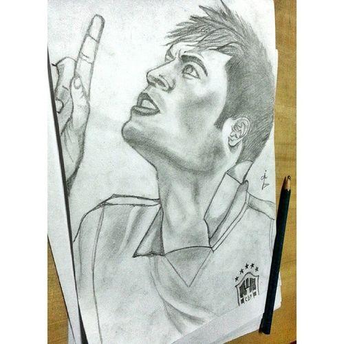Drawing Neymar Jr Neymar  Brazil #barcelona