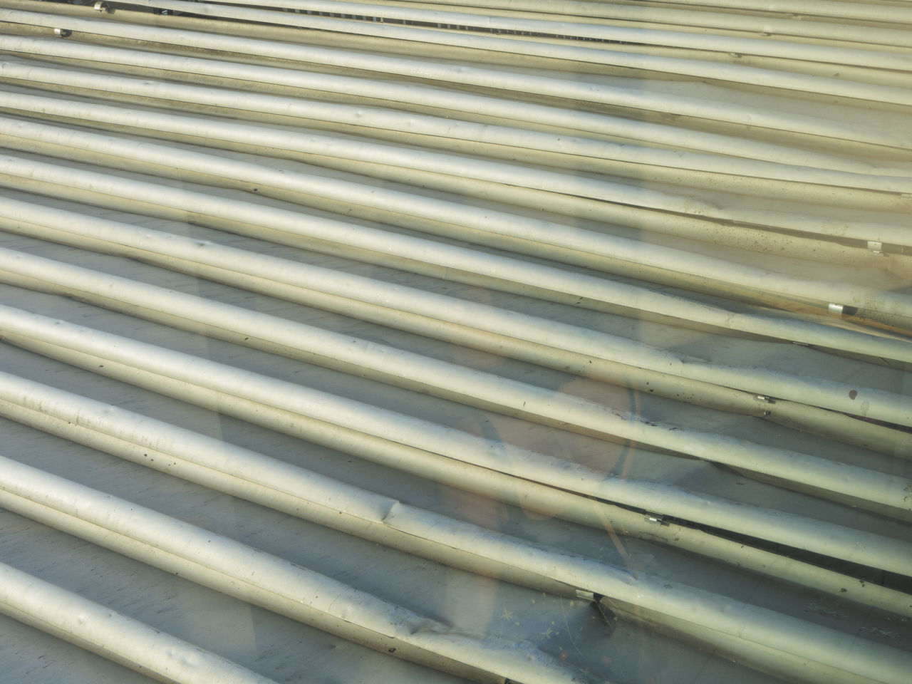 metal, corrugated iron, pattern, shutter, close-up, textured, backgrounds, outdoors, blinds, day, no people, steel