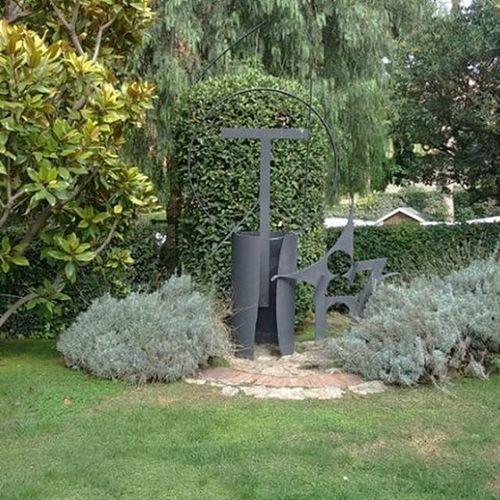 SculptureIn The Garden Of The School Of The Sisters Teresianas In Barcelona Gaudi .