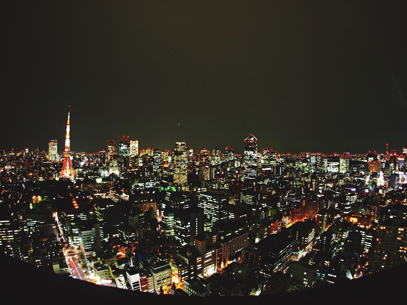 半年ぶりに来た😊 Night View Skyscrapers EyeEm Nature Lover EyeEm Best Shots - Nature City View  Nightphotography Olympus Night Photography Hello World Tokyo