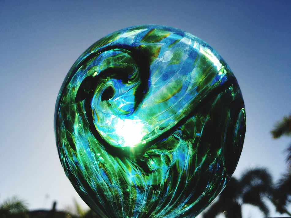 Sunlight through Hand Blown Glass Glass - Material Glass Art Reflected Glory Blown Glass IPS2016Composition Globe Crystalball Crystal Ball Glass Ball Ball Glass_collection Glass Objects  Pastel Power IPS2016Stilllife