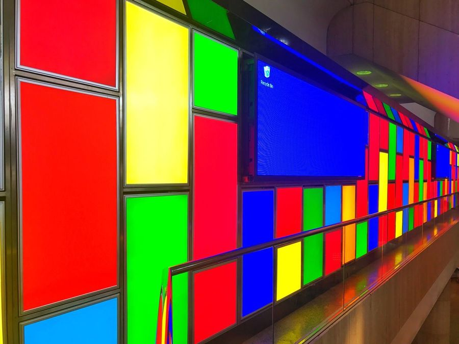 Colors. Multi Colored Built Structure Indoors  Architecture Illuminated No People Day Close-up Thepxs Color Colors Colorful Neon Life EyeEm Selects EyeEmNewHere