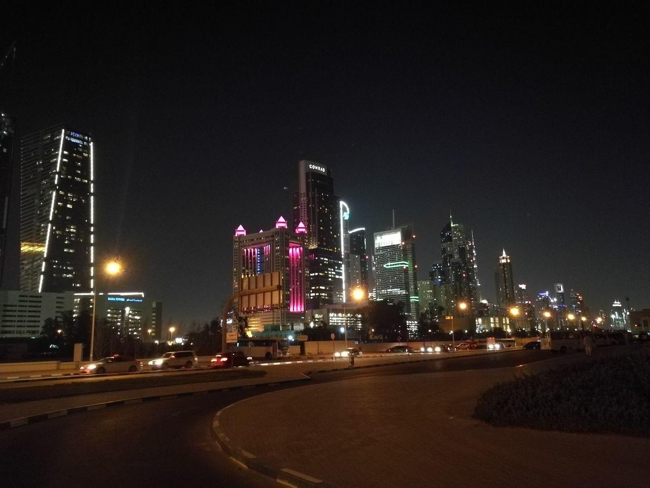 Adapted To The City Walking Around The City  Walking Alone... Night Citylights Dubai❤ Dubai Streetphotography