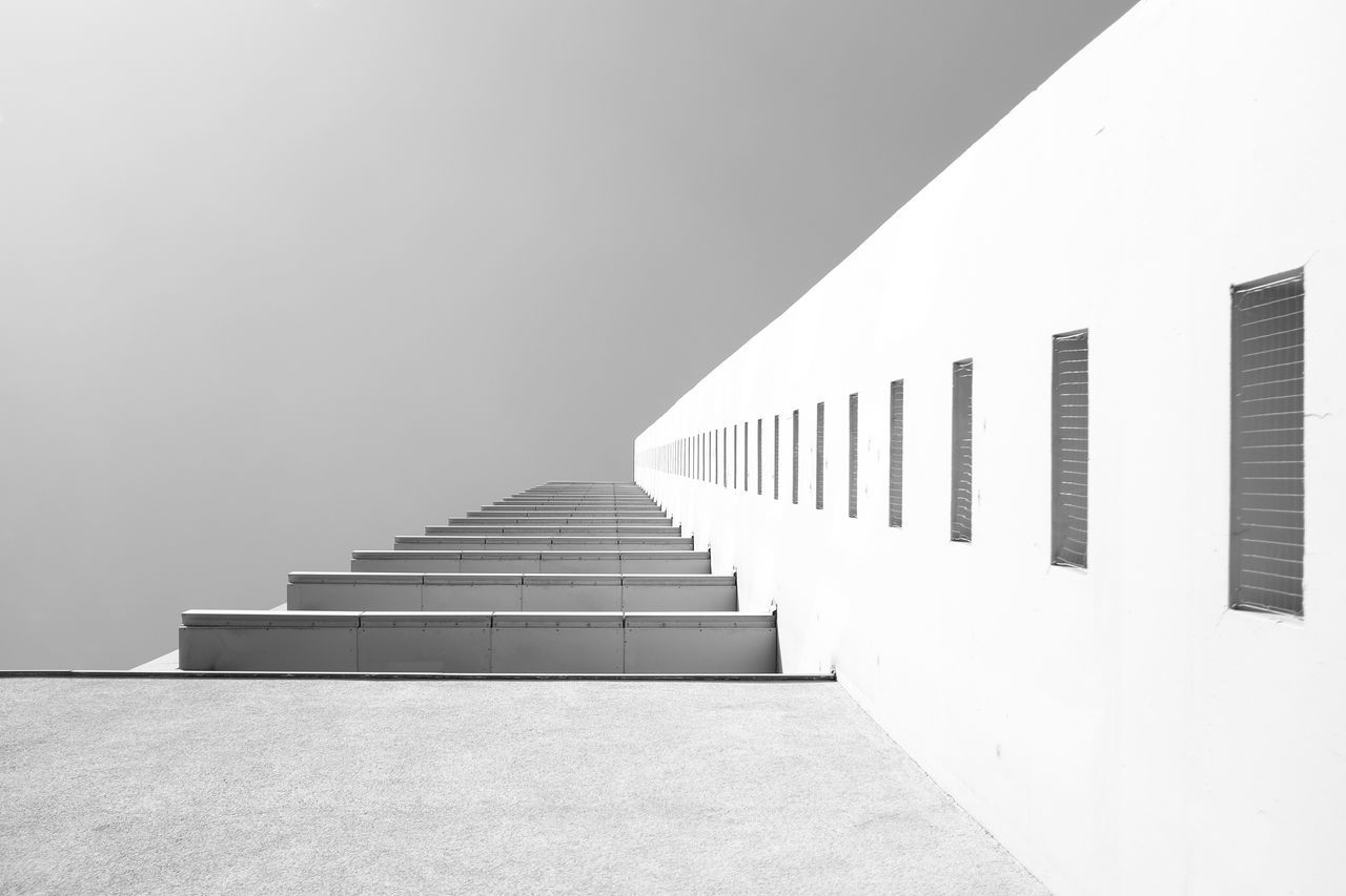 Another building. Architectural Feature Architecture Berlin Black And White Photography Blackandwhite Building Built Structure Diminishing Perspective Directly Below Lookingup Low Angle View Sky Vanishing Point