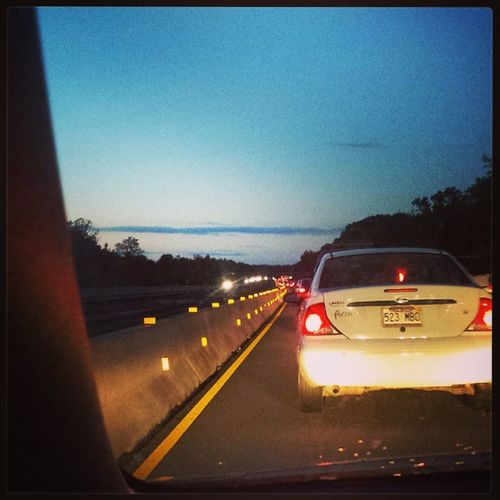 Brake lights as far as you can see. 6:30 am. Fun commute. Stabmyself