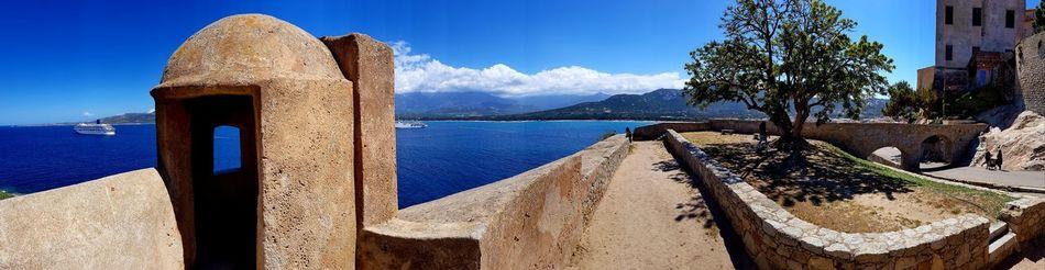 Mer Horizon Over Water Corsica Corse Beauty In Nature Beach City Nature Sky Mountain Calvi