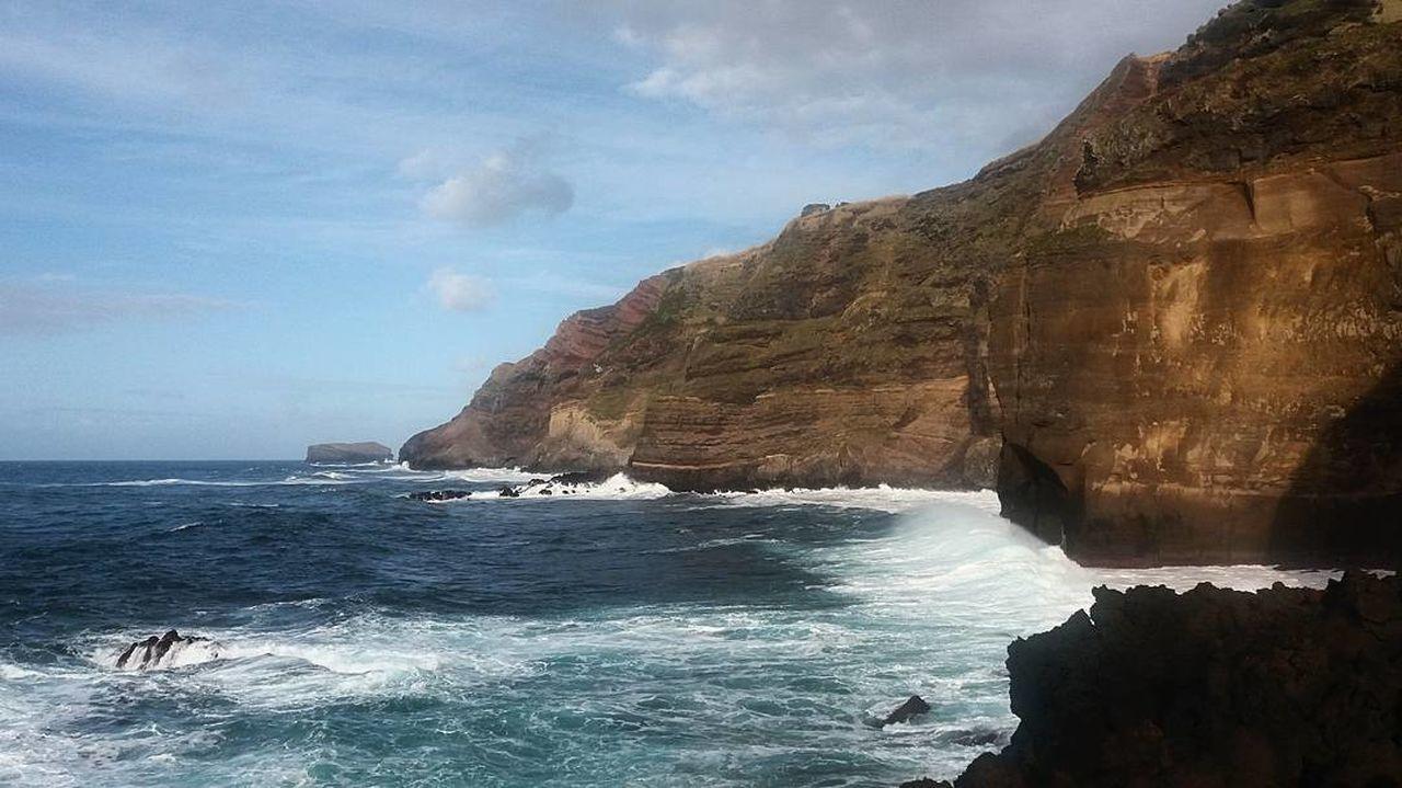 Pontadaferraria Azores, S. Miguel S. Miguel Island Sea