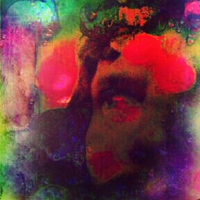 Trippy Color Self Portrait Winterbliss