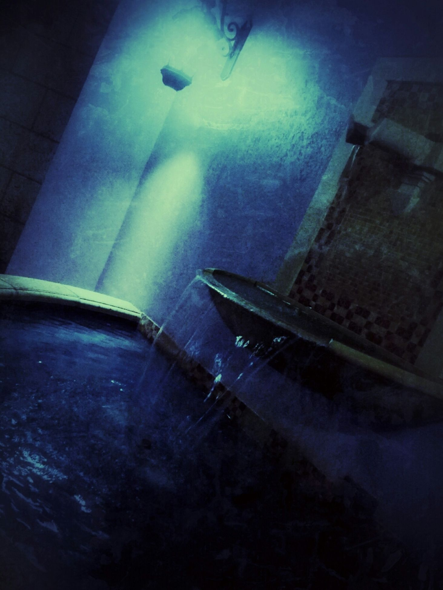 Azul ;) Urban Exploration Water_collection EE_Daily: Blue Friday
