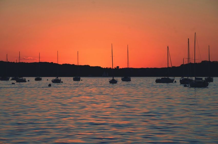 Madison, WI Madison Wisconsin Travel View From Shore WisconsinSunset Road Trip Sunset sunset #sun #clouds #skylovers #sky #nature #beautifulinnature #naturalbeauty photography landscape July Showcase