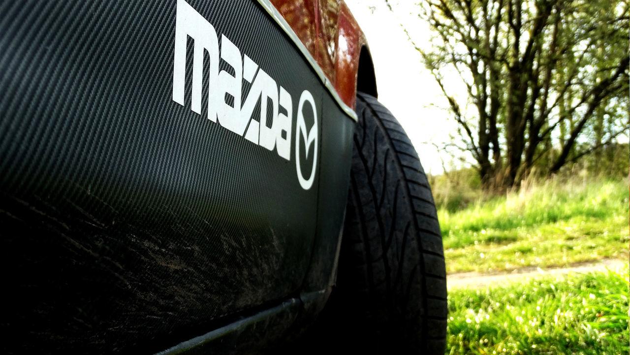 Mazda 323F BJ Auto Car Land Vehicle Mazda Outdoors Samochod Wałbrzych Wheel