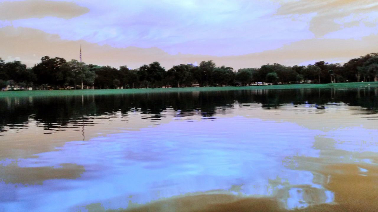 reflection, water, tree, lake, sky, nature, cloud - sky, outdoors, beauty in nature, tranquility, scenics, no people, waterfront, day