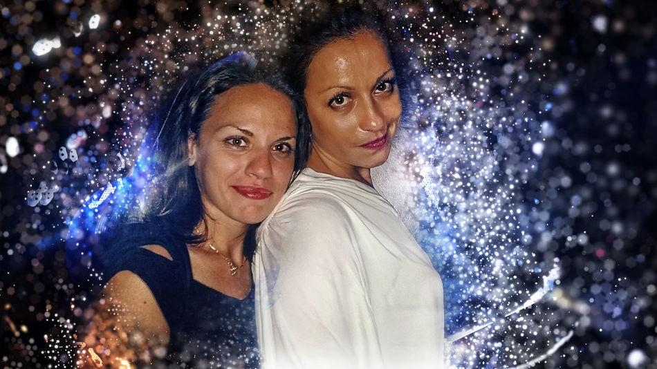 Clubbing Girls Night Abstract Photoshop Edit