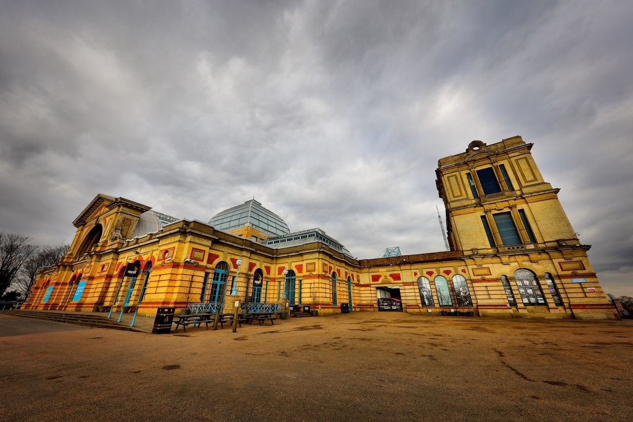 Alexandra Palace Restoration Building Exterior Built Structure Architecture Cloud - Sky Sky Outdoors Travel Destinations Place Of Worship No People Day
