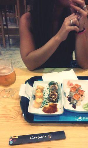 Sushi Enjoying Life Timeout