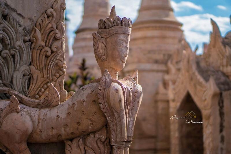 The guardian. A6300 50mm1.8OSS Kalaw Myanmar Temple Travelling Ayceds_Pixels