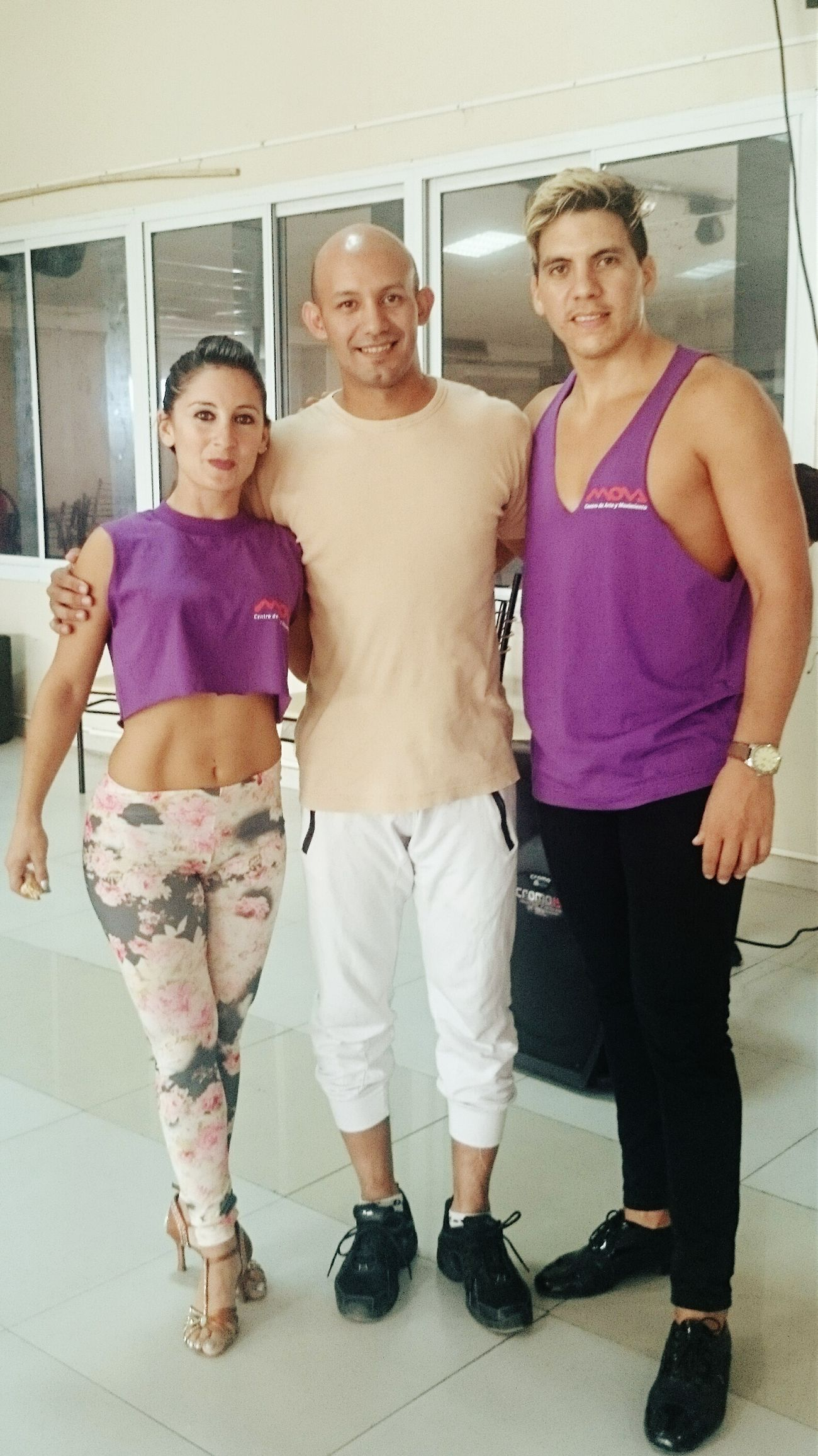 With The Champions Master Class of Bachata/salsa in Formosa