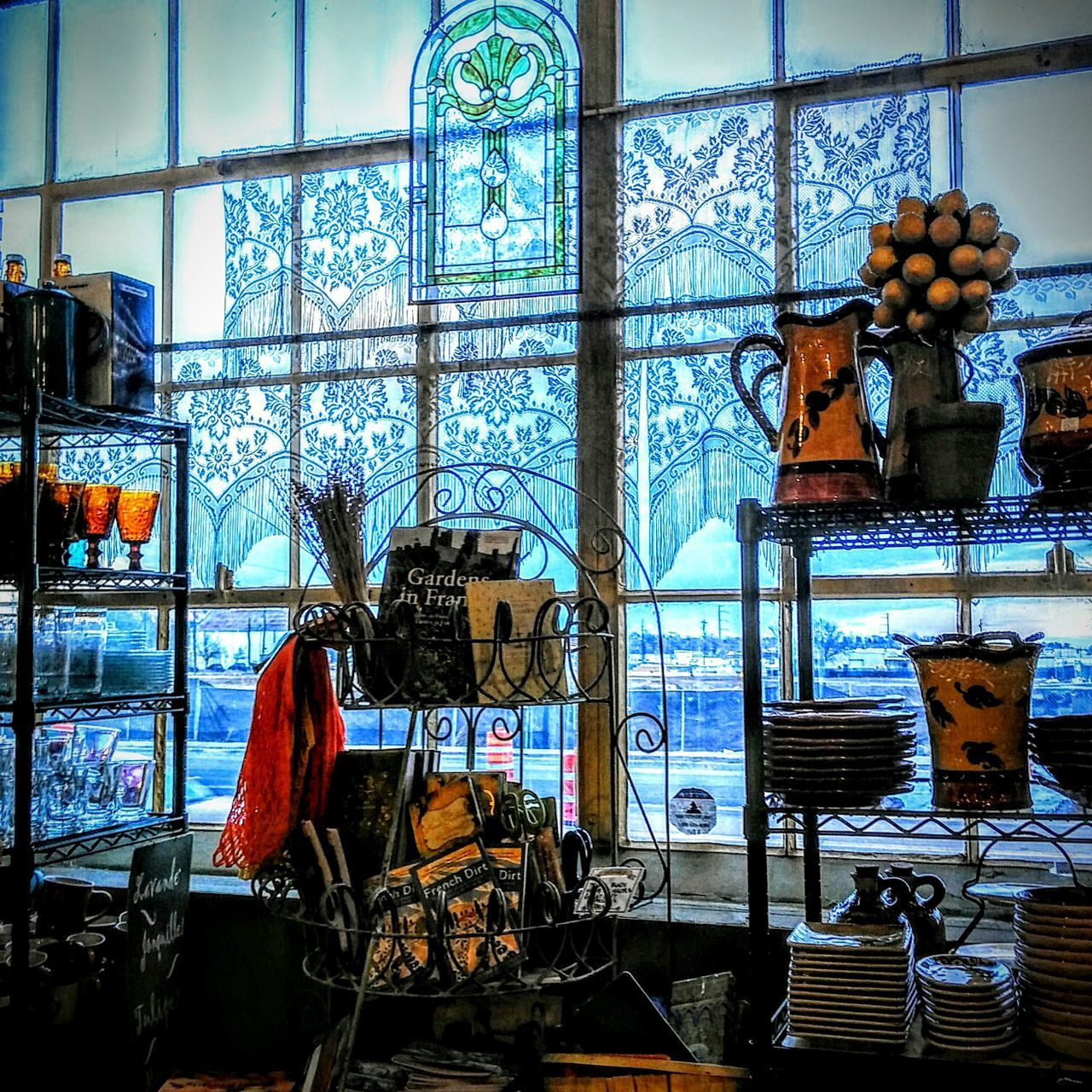 Shop European  french Italian kitchen Enjoying Life Lace Curtain products Supplies Beautiful Store Colorado Life shelves Glasses longmont colorado Happy Shopping Things I Like