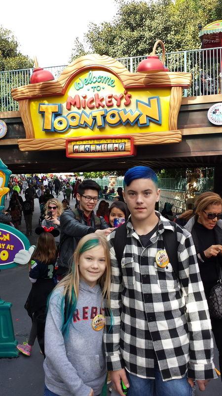 My Kids Kiddos Disneyland Brother & Sister My Children Kids Being Kids Toontown