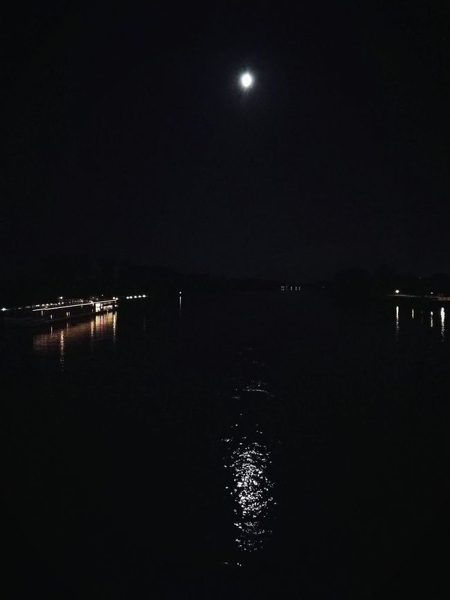 Moon Shots Moon In The Sky Moon Light Moonlight Lights In The Dark Lights In The Night Lights In The River Black Water