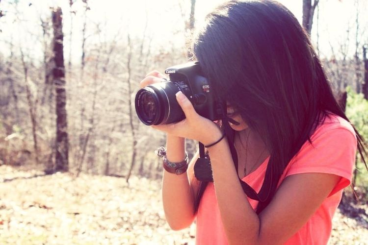 Doing what I love to do most. Taking Pictures! Photo credit to Katie. Thank you.