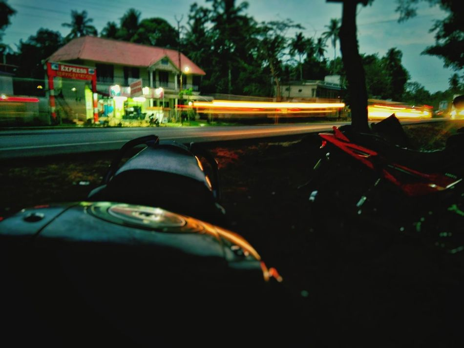 Light trail.. No People Transportation Night Light Trail Long Exposure Road Illuminated Architecture Outdoors Sky Mogilephotograpghy Streetphotography Refresh Photography India Light Up Your Life Light Rural Scene EyeEmNewHere Best  Lifestyles Uk Life In Motion Close-up