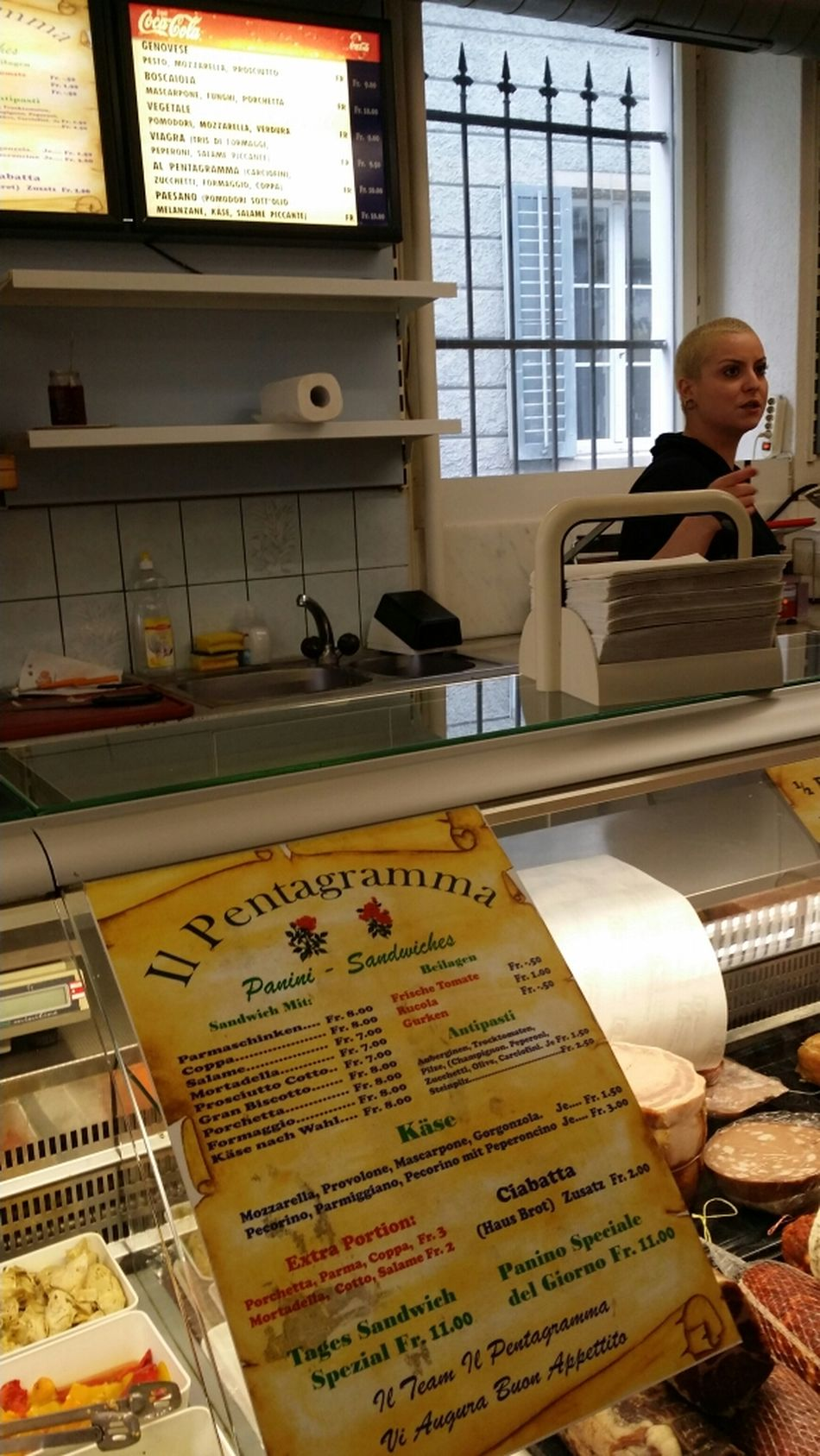 the Good Stuff  in Zureich... best Italian Sandwiches in town! :-) (yes, this is an advertisment)