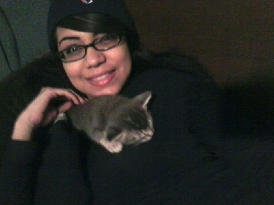 Chillen w. my Smokey (: