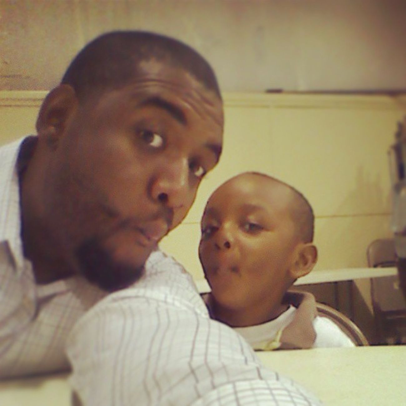Jaden and Daddy