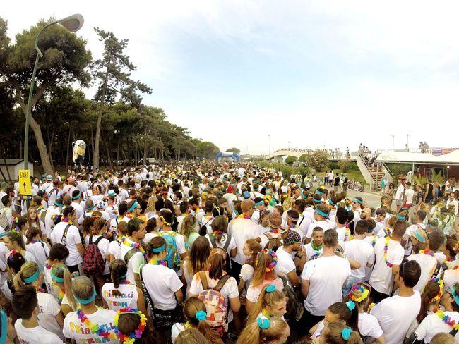 🔵🔴💜💚💛 Thecolorrun Lignano Summer Snapchat Followme OpenEdit Gopro