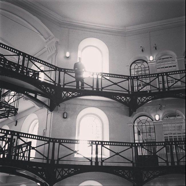 Belfast Culloden Gaol Jail History Ireland Northern Ireland Blackandwhite