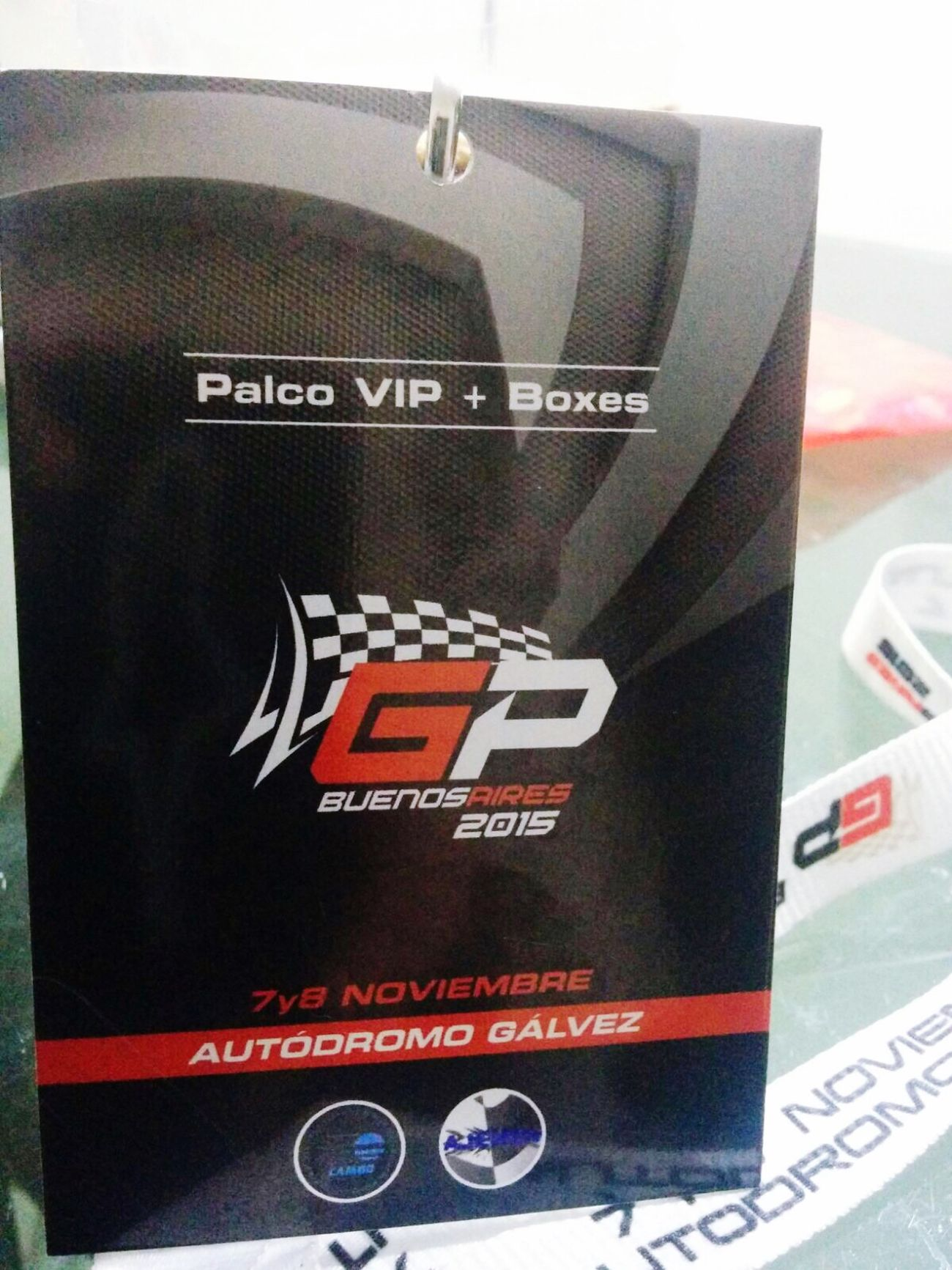 Motogp2015 Enjoying Life Buenosaires Surprise Gift MDL ❤️ Autodromo Galvez