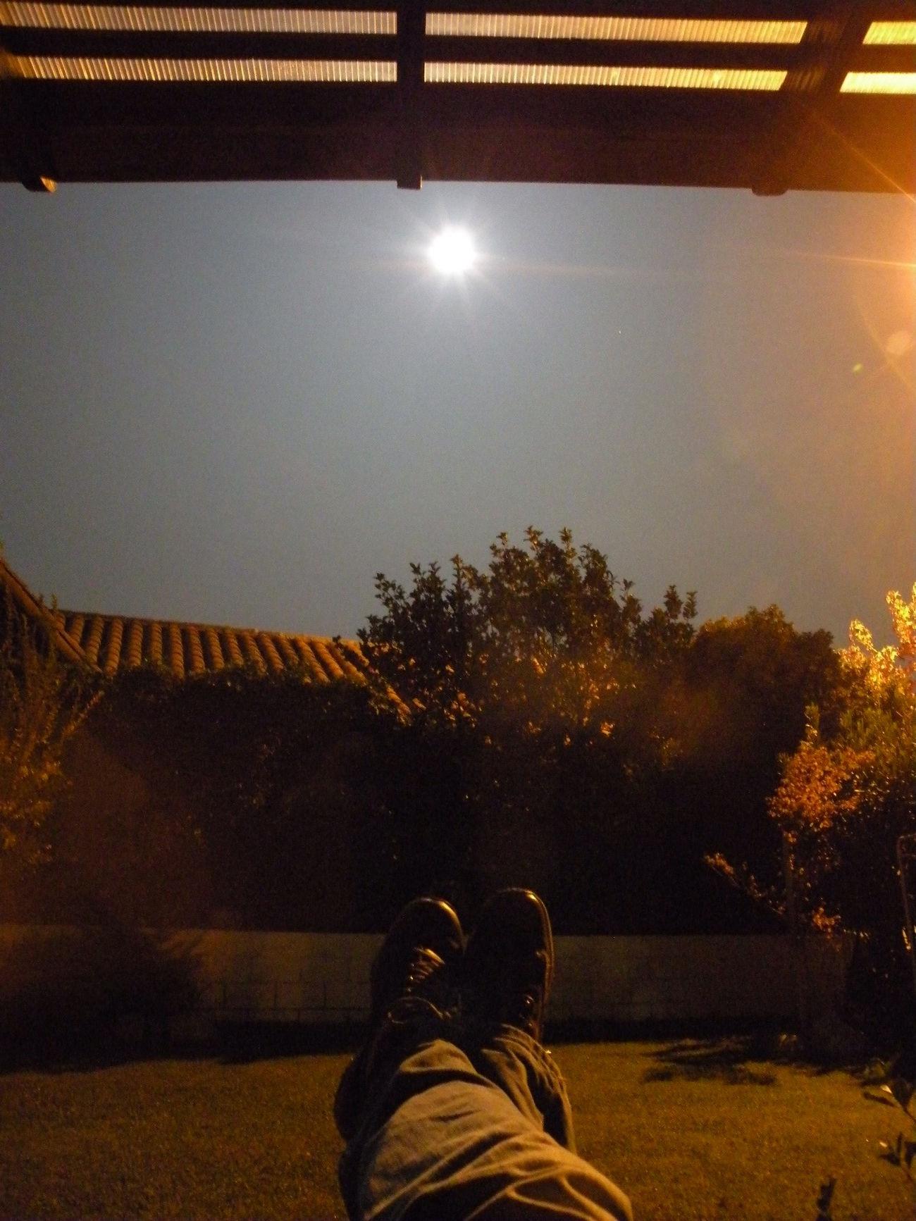 Disfrutando La Luna