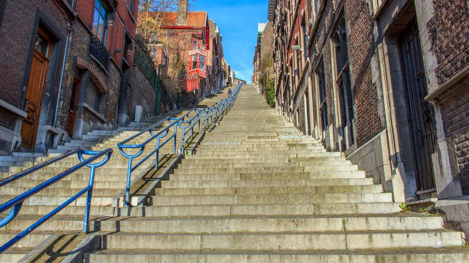 Buren History Liège Montagne De Bueren Steps Travel Destinations Upstairs
